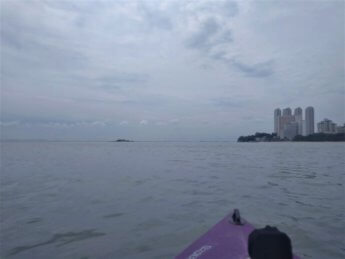 11 kayaking Pulau Tikus Island distance george town
