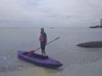 13 return pulau tikus kayak rental George Town Penang Malaysia