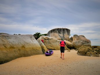 2 Pulau Tikus Island low tide beach