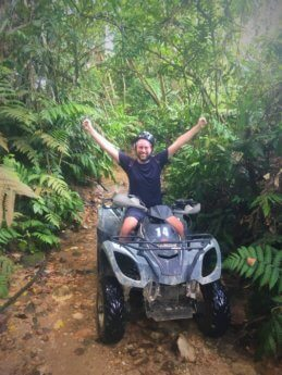 Bukit larut ATV adventure quad tour 1