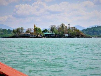 Kawthaung Myanmar to Ranong Thailand border crossing Kraburi Pak Chan river 11