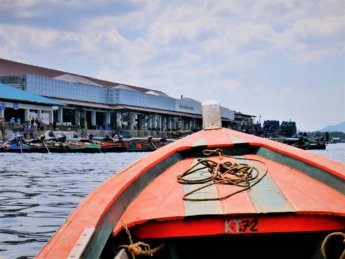 Kawthaung Myanmar to Ranong Thailand border crossing Kraburi Pak Chan river 16