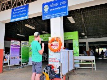 Kawthaung Myanmar to Ranong Thailand border crossing Kraburi Pak Chan river 19