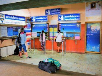 Kawthaung Myanmar to Ranong Thailand border crossing Kraburi Pak Chan river 20