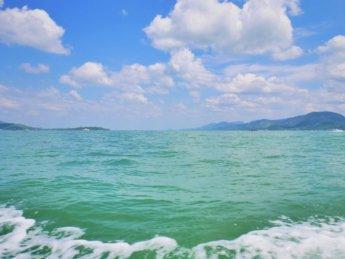 Kawthaung Myanmar to Ranong Thailand border crossing Kraburi Pak Chan river 7