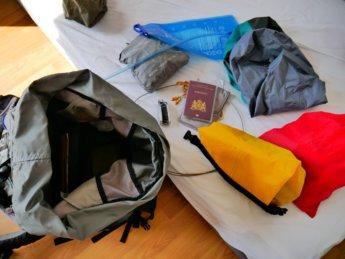 Pandemic in Penang packing backpack final day Malaysia Taiping Perak