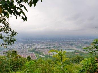 Viewpoint Bukit Kledang hiking area Ipoh Malaysia