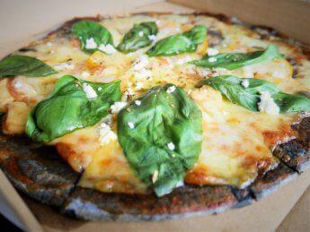 Wheeler's vegetarian four cheese pizza Penang Malaysia