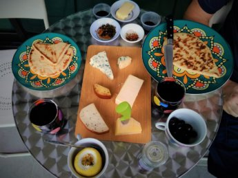 cheese board red wine Malaysia Ipoh birthday