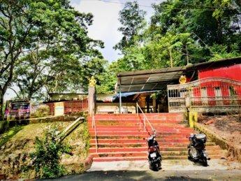 3 bukit larut hindu temple foothills traveling in Malaysia