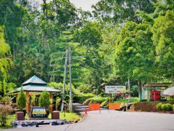 5 bukit larut park entrance jeep track closed until 2021