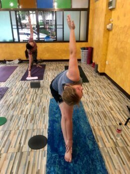 Chiang Mai yoga Rang Nok studio 1