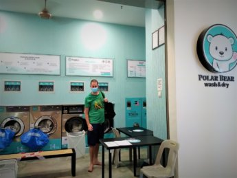 laundry service polar bear wash and dry tropicana 218 penang malaysia