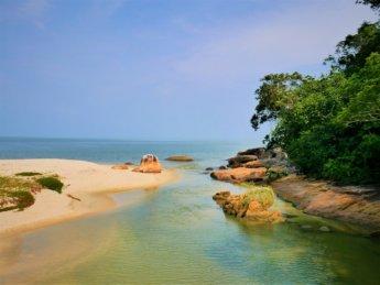 Penang national park meromictic lake turtle beach pantai keracut 17