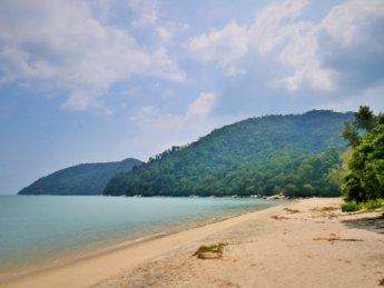 Penang national park meromictic lake turtle beach pantai keracut 25