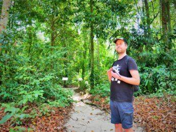 Penang national park meromictic lake turtle beach pantai keracut 27