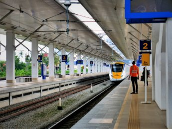 RMCO travel Bukit Mertajam train station