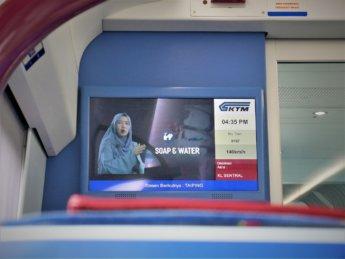 RMCO travel KTM train COVID-19 hand wash video PSA