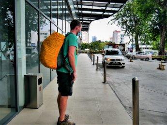 RMCO travel Penang to Taiping Grab