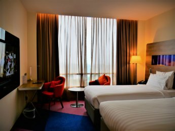 RMCO travel Taiping Novotel twin room COVID-19