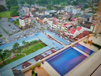 RMCO travel closed pool Novotel Taiping Malaysia