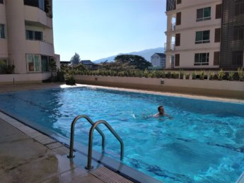 swimming pool nakornping condominium chiang mai 1