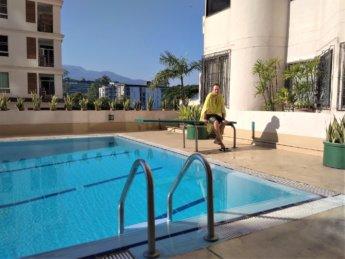 swimming pool nakornping condominium chiang mai 2