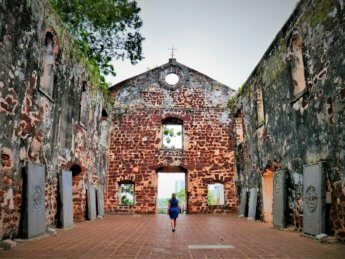 Melaka church ruins unesco world heritage site 2020