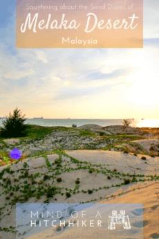 A beautiful disaster at Melaka's coastline. #Malaysia #Melaka #Malacca #sanddunes #dunes #dune #sand #desert #landscape #Malaysian #southeastasia #Asia #landreclamation