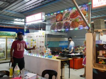 Da chao vegetarian char kway teow sky 88 food court 1 Johor Bahru Malaysia
