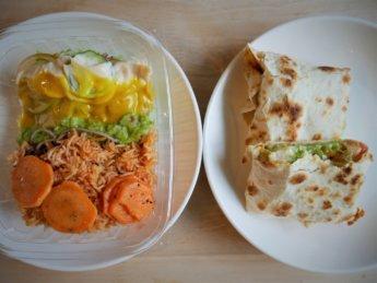 Stuff'd malaysia johor bahru r and f mall malaysia vegetarian quesadilla healthy bowl