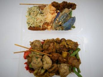 kuai le zhai vegetarian economy rice jb