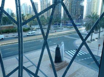 11 Two weeks in Dubai United Arab Emirates UAE Day 4 gulf arab couple statue
