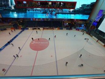13 Two weeks in Dubai United Arab Emirates UAE Day 4 dubai mall ice skating rink