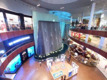 14 Two weeks in Dubai United Arab Emirates UAE Day 4 dubai mall waterfall