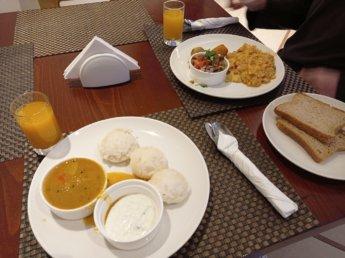 2 Two weeks in Dubai United Arab Emirates UAE Day 2 golden sands 3 vegetarian breakfast