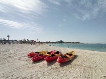 31 Two weeks in Dubai United Arab Emirates UAE Day 9 la mer beach kayak