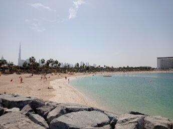 32 Two weeks in Dubai United Arab Emirates UAE Day 9 la mer beach
