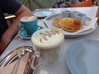 33 Two weeks in Dubai United Arab Emirates UAE Day 9 sikka cafe pistachio latte