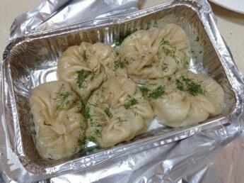 44 Two weeks in Dubai United Arab Emirates UAE Day 12 pumpkin dumplings afsona