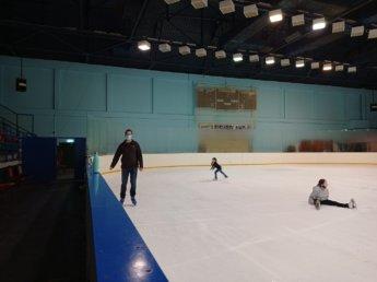 45 Two weeks in Dubai United Arab Emirates UAE Day 13 al nasr ice skating rink