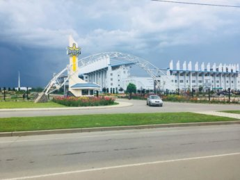 The Sheriff football stadium: Sheriff a monopoly on almost everything in Transnistria