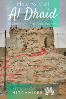 7 Manama, Ajman — Visiting the Inland Exclave + Al Dhaid as a Day Trip from Sharjah