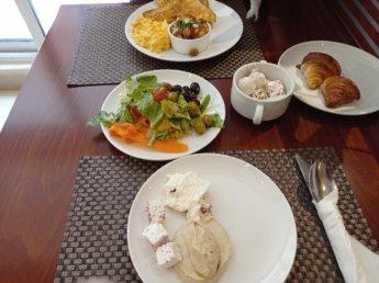 8 Two weeks in Dubai United Arab Emirates UAE Day 3 golden sands 3 breakfast