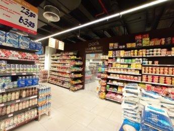 9 Two weeks in Dubai United Arab Emirates UAE Day 3 supermarket non-muslim meat pork section