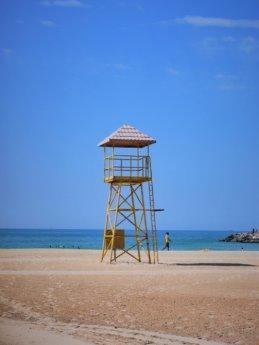 ajman corniche beach watch tower