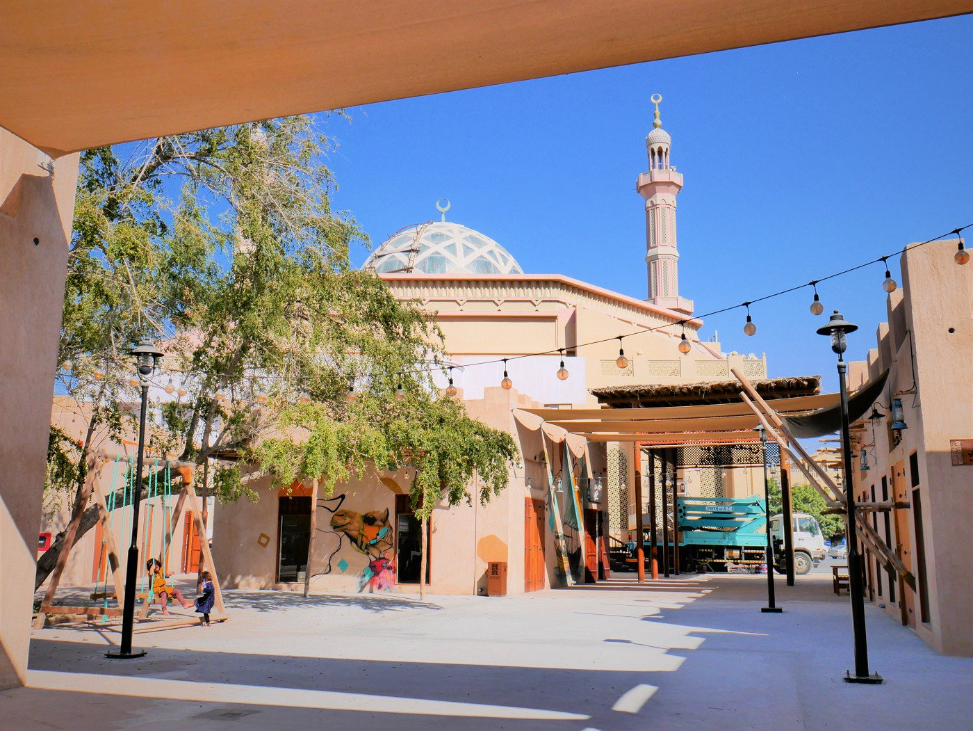 ajman heritage district mosque