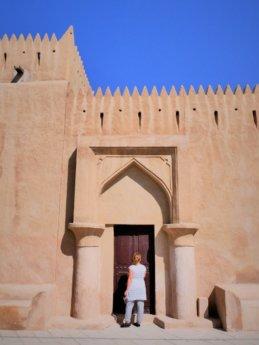 ajman museum fort door instagram