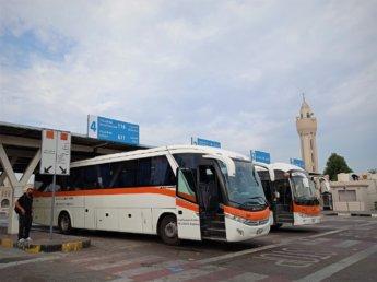 1 sharjah city bus station to al dhaid masafi fujairah kalba 611
