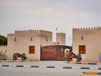 12 historic white fort al manama ajman exclave uae